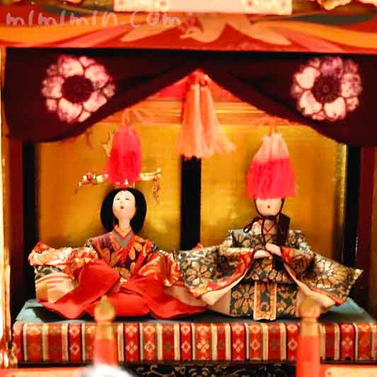 雛人形|御殿飾り雛の画像