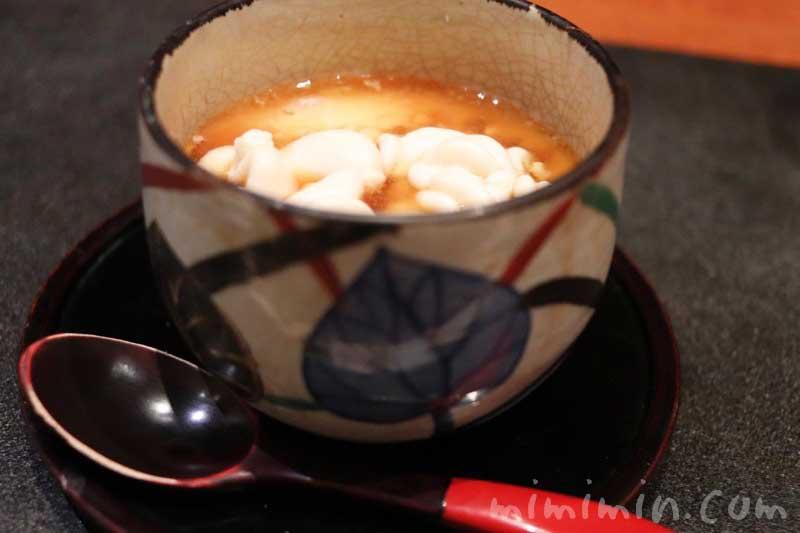 白子|日本料理 TAKEMOTO (たけもと)|おまかせコースの写真