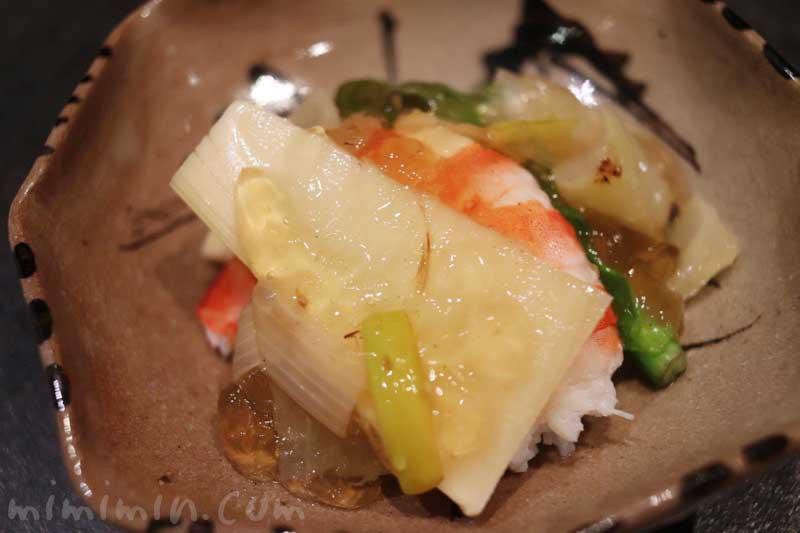 海老|日本料理 TAKEMOTO (タケモト)のディナー|代官山の和食|おまかせコースの画像