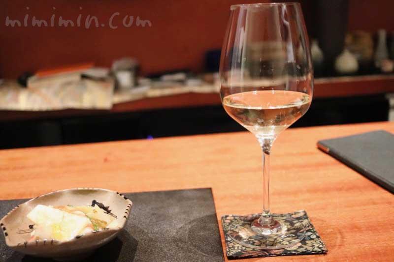 白ワイン|日本料理 TAKEMOTO (タケモト)の画像