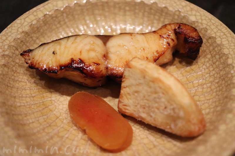 焼き魚|日本料理 TAKEMOTO (タケモト)のディナー|代官山の画像