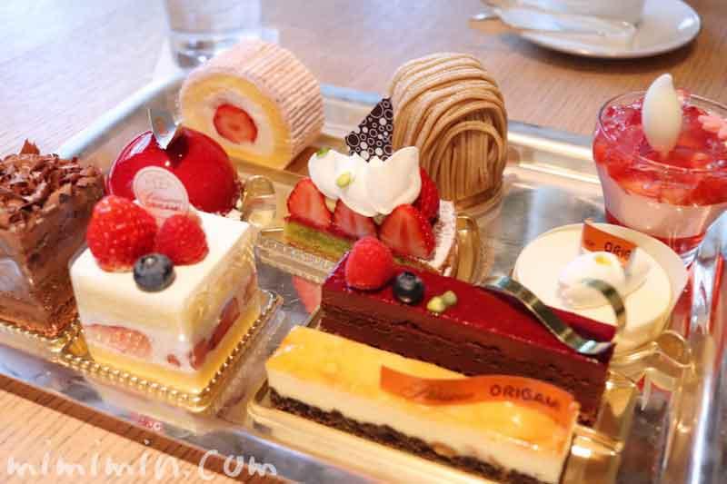 ケーキセット|ラウンジ「ORIGAMI」|キャピトルホテル東京のカフェの画像