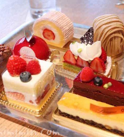 ラウンジ「ORIGAMI」のケーキセット|キャピトルホテル東京