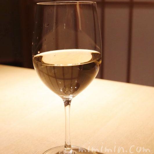 白ワイン|紀風|恵比寿の和食の写真