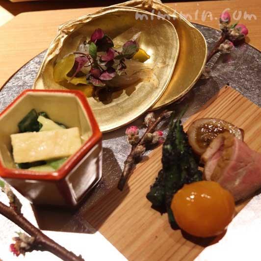 八寸|紀風のランチ|恵比寿の懐石料理の画像