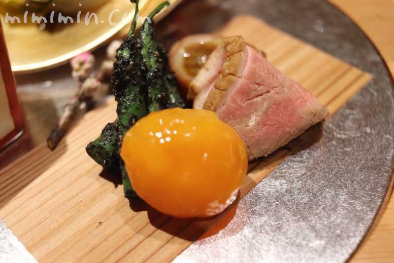 紀風のランチの八寸|恵比寿の会席・懐石料理の写真