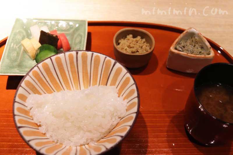 御飯|紀風のランチ|恵比寿の和食・会席・懐石料理の写真