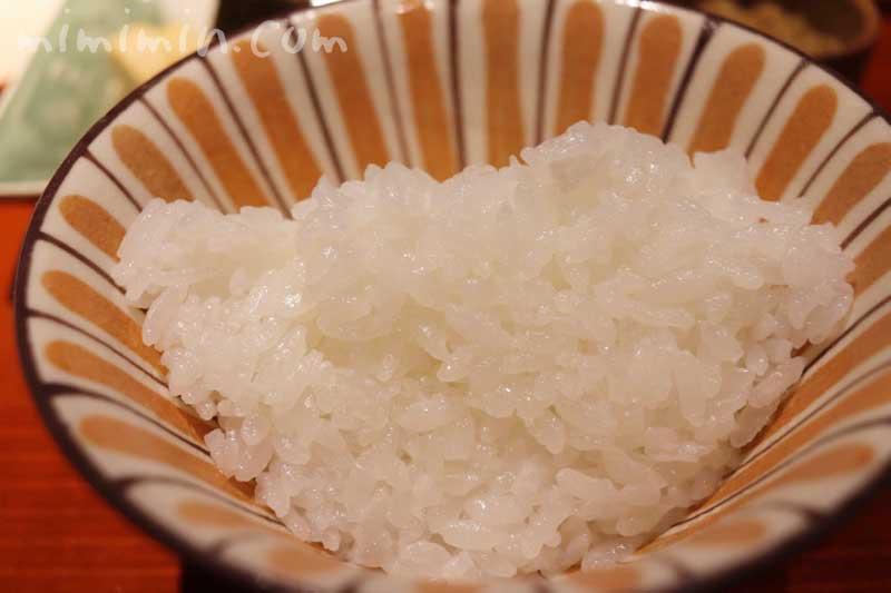 ご飯|紀風のランチ|恵比寿の和食の写真