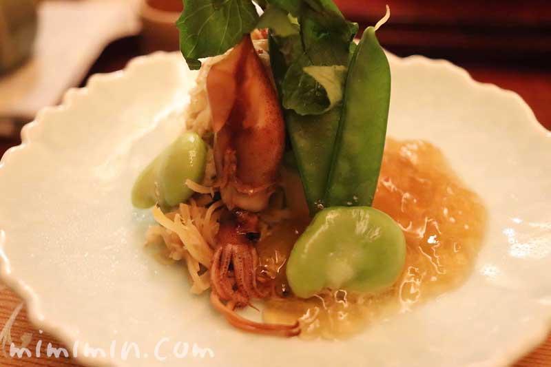 先付|ホタルイカ|恵比寿 くろいわ|日本料理・懐石の画像