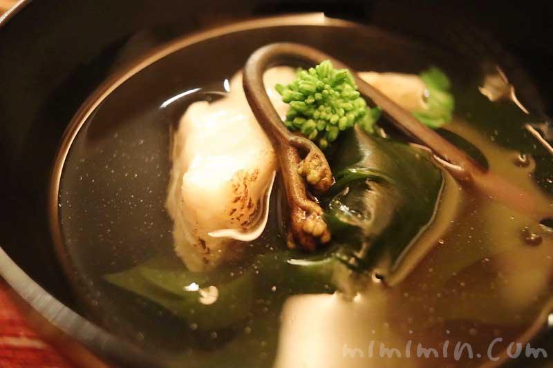 お椀|恵比寿 くろいわ|日本料理・懐石の画像