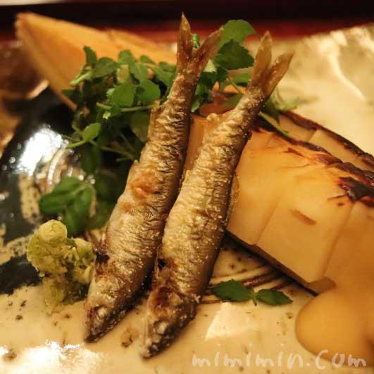 焼物|筍と鮎|恵比寿 くろいわ|日本料理の画像