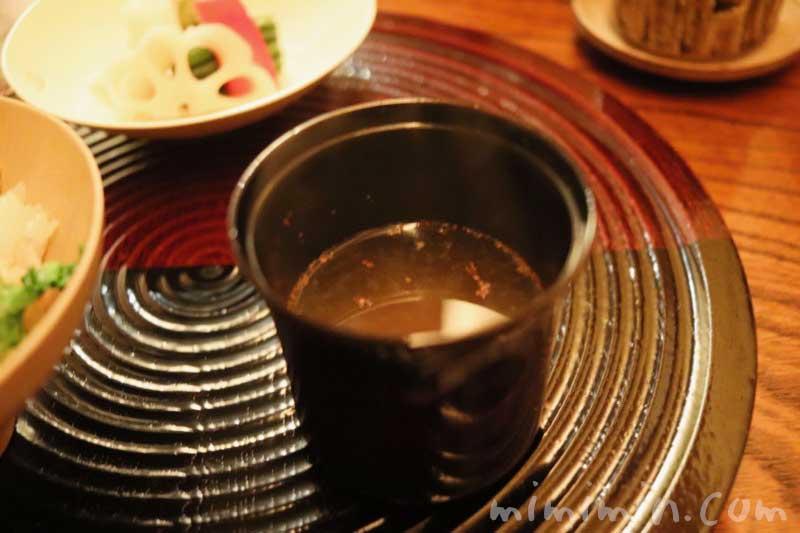 味噌汁|恵比寿 くろいわ|懐石料理