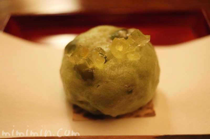 御菓子|恵比寿 くろいわ|懐石料理の写真