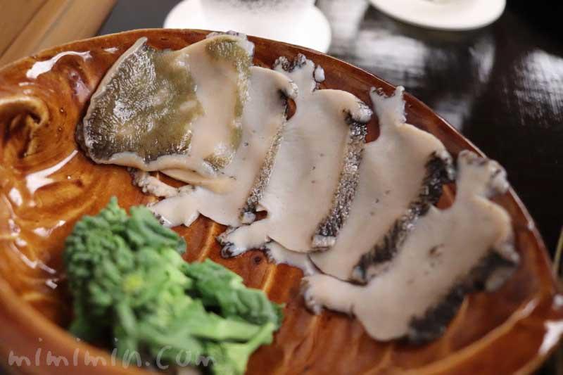 鮑のしゃぶしゃぶ|菊乃井の懐石料理|赤坂の画像