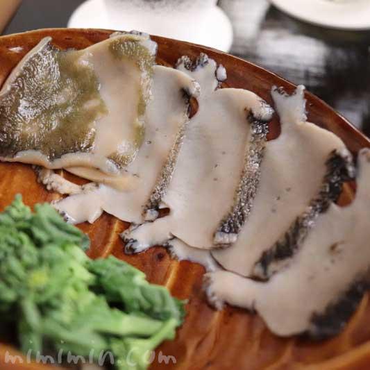 鮑のしゃぶしゃぶ 菜種|菊乃井|赤坂の写真