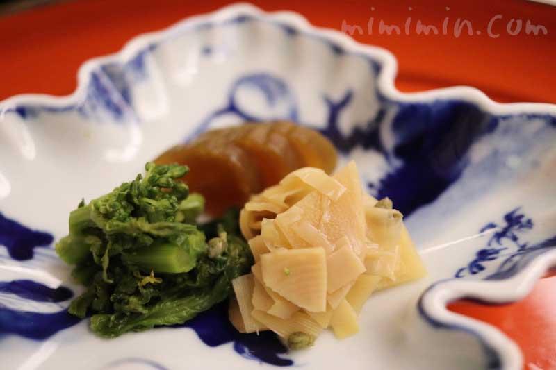 漬物|菊乃井の懐石料理|赤坂の画像
