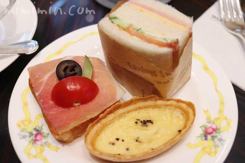 セイボリー|ウェスティンホテル東京のアフタヌーンティーの写真