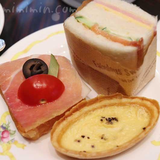 セイボリー|ウェスティンホテル東京のアフタヌーンティー(ザ・ラウンジ |恵比寿)の画像