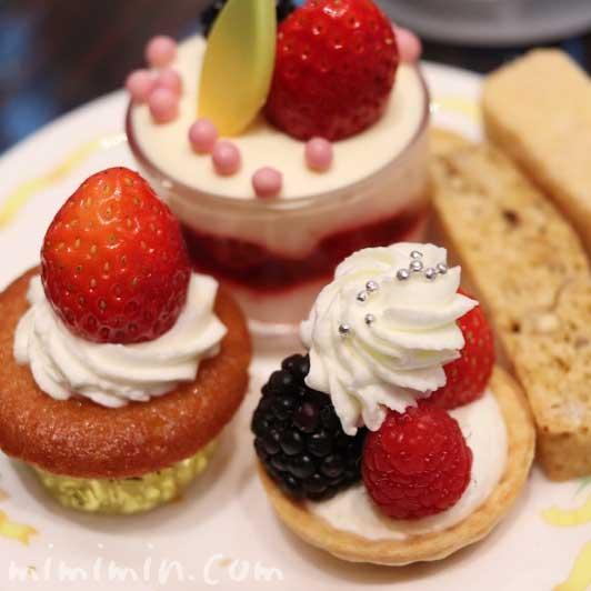 スイーツ|ウェスティンホテル東京のアフタヌーンティー(恵比寿ガーデンプレイス)の画像