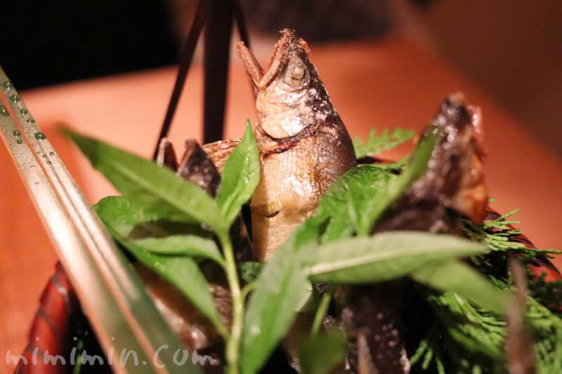 鮎の塩焼き|くろいわ|懐石料理の画像