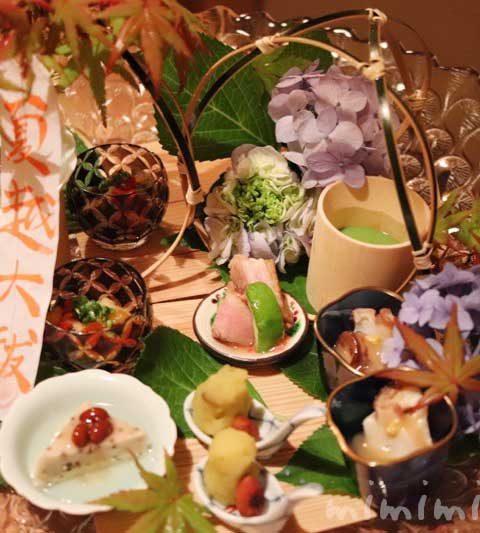 恵比寿くろいわの個室でディナー(3回目)|懐石料理