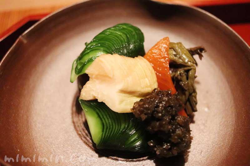 漬物|くろいわ|恵比寿の懐石料理の画像