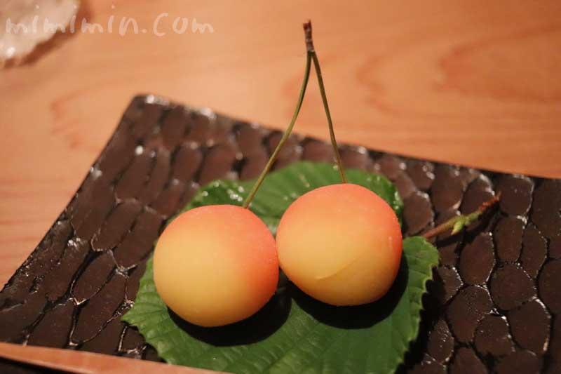 御菓子|くろいわ ディナー|恵比寿の懐石料理の画像
