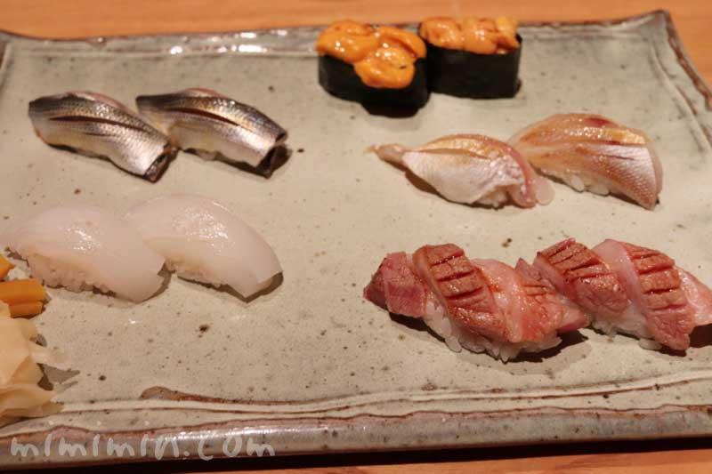 握り寿司|松栄 恵比寿本店の個室 おまかせコースの写真