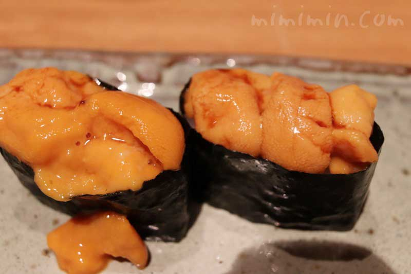 ウニ|松栄 恵比寿本店の個室|寿司の画像