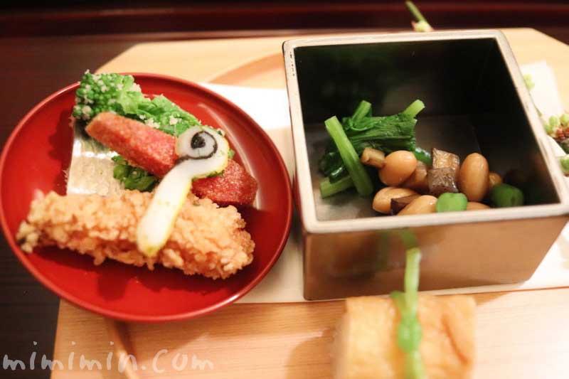 八寸|下鴨茶寮 東のはなれ(東京店)でランチ|京料理の画像