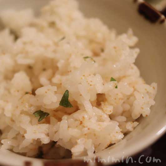 炊き込みご飯|下鴨茶寮 東のはなれ(東京店)でランチ|京料理の写真