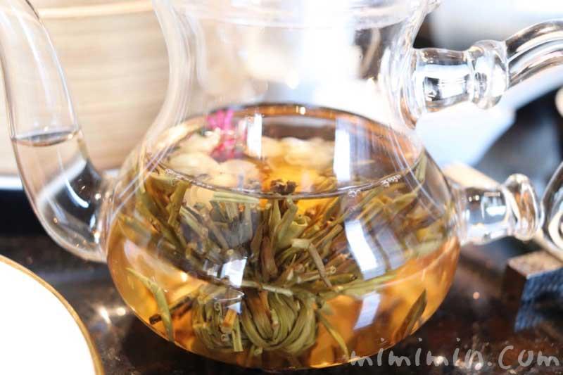 工芸花茶|龍天門の飲茶ランチ(恵比寿・ウェスティンホテル東京)の写真