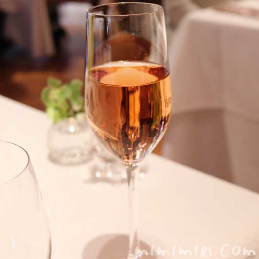 ワイン、ロゼ スパークリング|リストランテASO(代官山)の写真