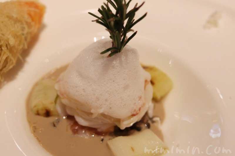 海老とサーモンのマリネとワイルドライスのサラダ|リストランテASOの写真
