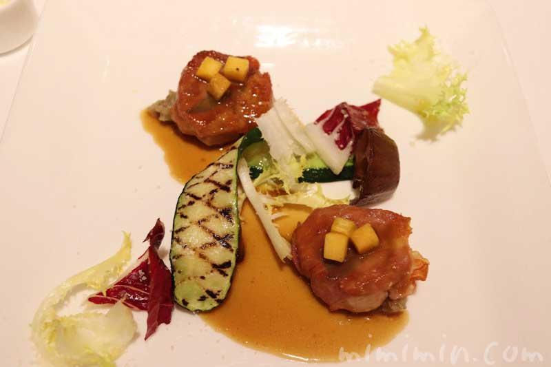 豚フィレ肉のサルティンボッカ 牛蒡のペーストと共に|リストランテASO(代官山)ランチの画像
