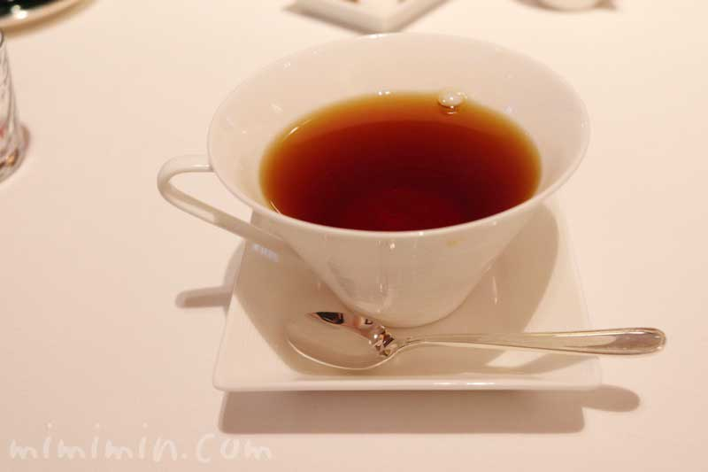 紅茶|リストランテASO(代官山)ランチの写真