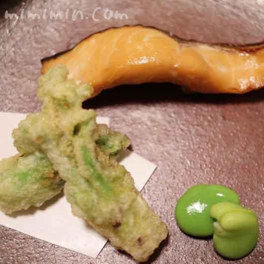 桜鱒燻し|温故知新(恵比寿)ディナーの画像