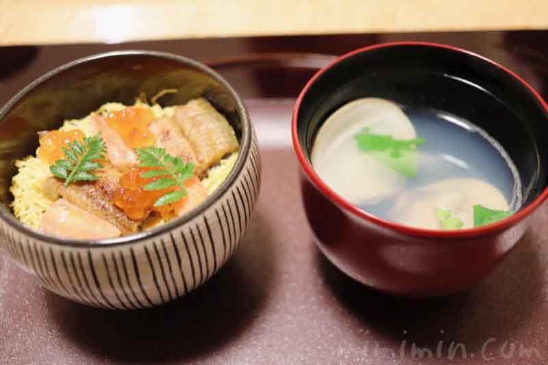 雛寿し 蛤吸い|温故知新(恵比寿・和食・懐石)ディナーの写真