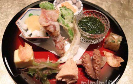 八寸|白金台こばやし ディナー|日本料理・懐石料理の画像