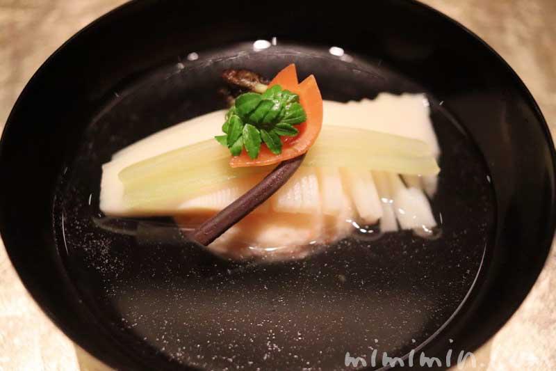 お椀|白金台こばやし ディナー|日本料理の画像