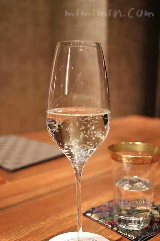 スパークリング日本酒 咲|白金台こばやしの写真