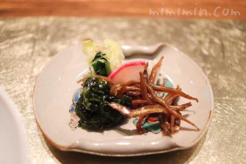 漬物|白金台こばやし|日本料理・懐石料理の写真