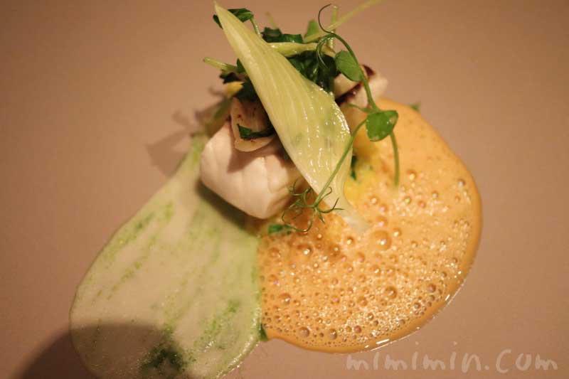 魚料理|Q.E.D.クラブ ディナーの写真