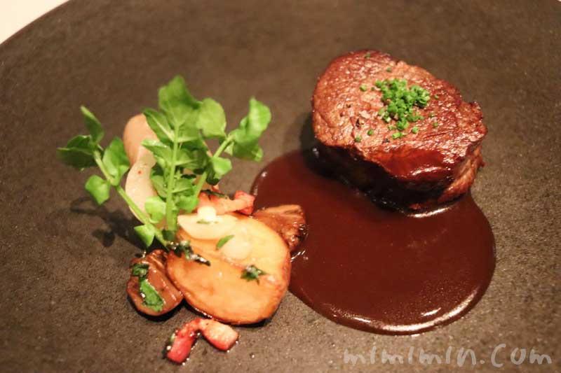 牛フィレ肉|Q.E.D.クラブでディナーの画像