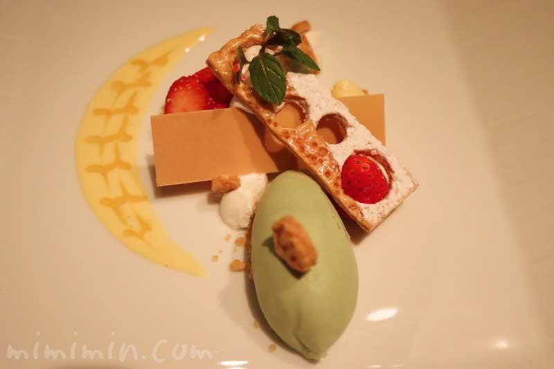 デザート|Q.E.D.クラブ(中目黒・恵比寿のフレンチ)でディナーの写真