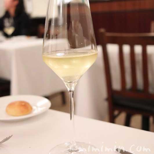 白ワイン|リストランテセンソ(白金台)でディナー