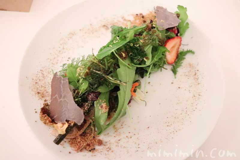 サラダ|リストランテセンソ(白金台)でディナーの画像