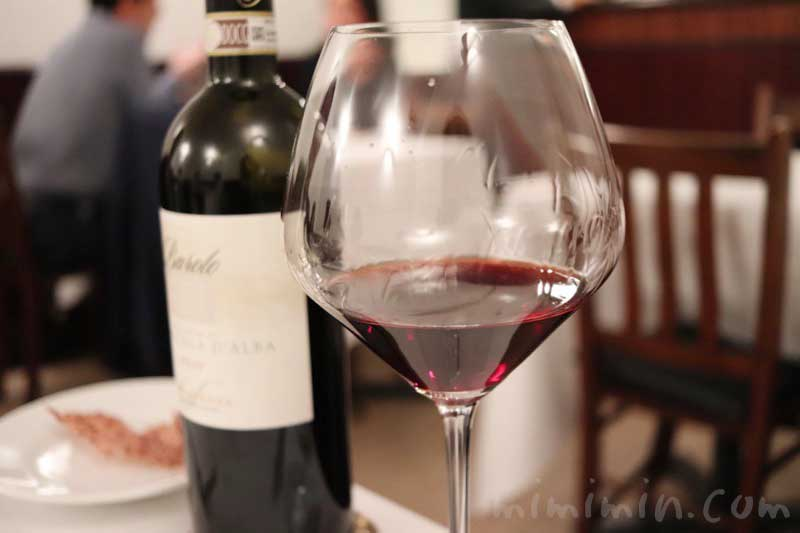 赤ワイン|リストランテセンソの画像