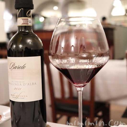 赤ワイン|リストランテセンソ・白金台の写真
