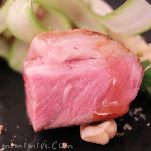 フランス産仔羊 ヘーゼルナッツ グリーンアスパラ|リストランテセンソ(白金台)のディナーコースの画像